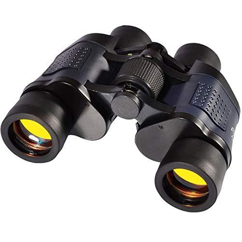 Gafas de visión nocturna prismáticos para adultos, prismáticos profesionales de alta ampliación para detectar, cazar, visión nocturna, visión nocturna para acampar