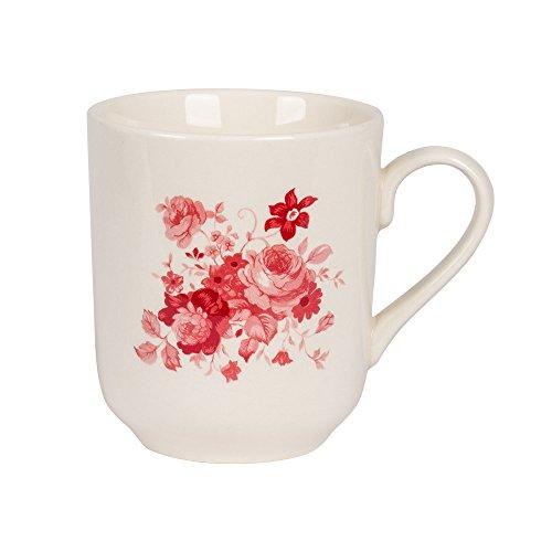 - mug 37 cl lilly rose (lot de 6)
