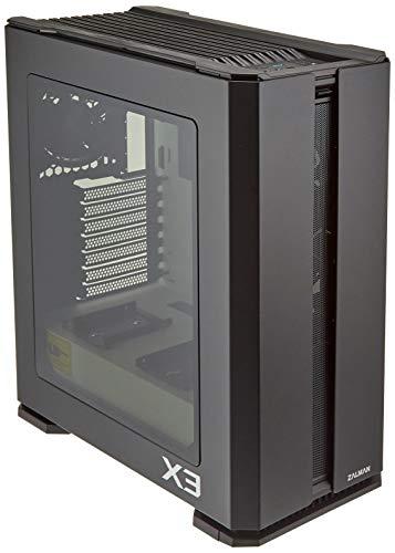 Zalman X3 schwarz (RGB) Gehäuse ohne Netzteil – mittlere Tower – Format ATX