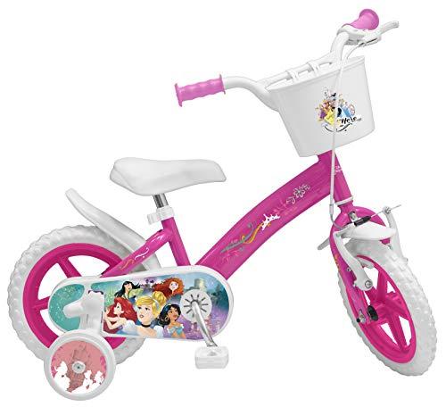 Toimsa Vélo pour Enfant sous Licence Princesse Disney 12 Pouce de 3 à 5 Ans, 640U EN71