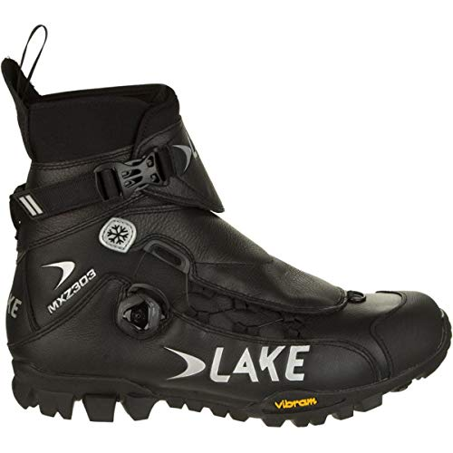Lake Cycling MXZ303 Winter Boot, Black, 40...