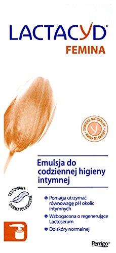 Lactacyd Femina Emulsja do higieny intymnej - pompka 200ml [KOSMETYKI]