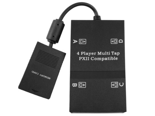 PS2 Playstation 2 Multitap 4 Spieler Adapter PStwo Slim