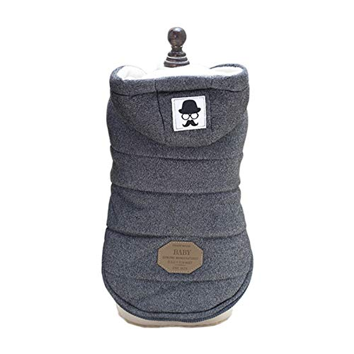 Stephanie Dog Coats & Jackets - Cotton Dog Clothes for Small Dogs...