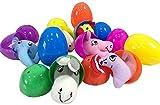 Uovo di Pasqua di Colore Misto Simulato Guscio D'uovo Bambola Uovo di Sorpresa con Apertura Innovativa con Varie Sorprese