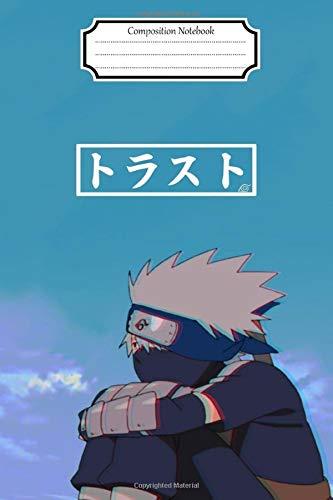 Shippuden Naruto-Sasuke-Sakura-Kakashi-Itachi Vol. 25 Anime Journal/Notebook, College Ruled 6