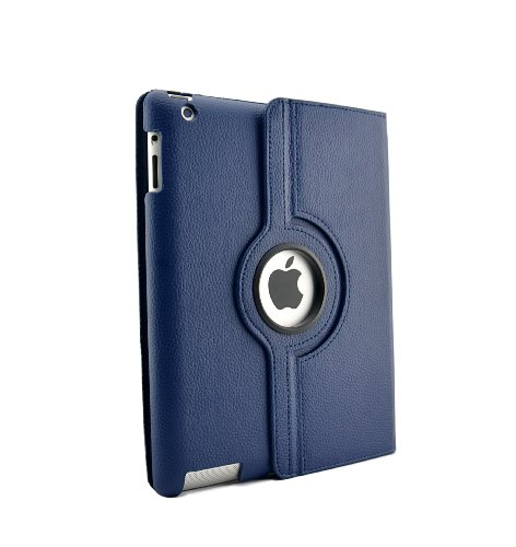 inShang Case for iPad 2 iPad 3 iPad 4 Premium PU Leather Multi-Function PU Leather Stand/Case/Cover For ipad2 iPad3 iPad3, With Auto Sleep Wake Function