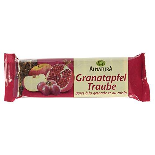 Alnatura Bio Granatapfel-Traube-Fruchtschnitte, vegan (1 x 75 g)