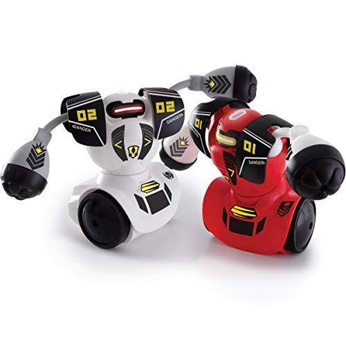 Sharper Image Remote Control Robot Multiplayer Combat Set, Red & White