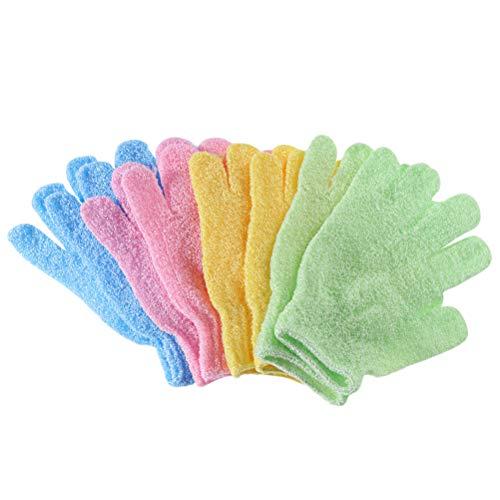 HEALLILY Bath Gloves for Shower Spa Guantes exfoliantes para Shower Bath Exfoliating...