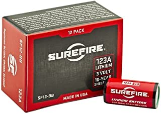 SureFire 123A Lithium Batteries
