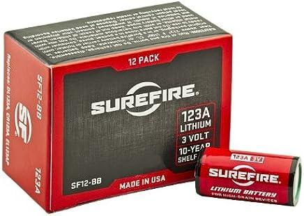 SureFire SF12-BB Boxed Batteries, (12 Pack)