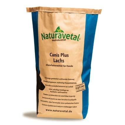 Naturavetal Canis Plus Salmone Lachs Fish Kleine pellets 5kg