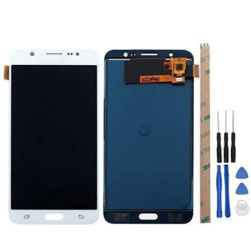 Preisvergleich Produktbild West Dragon LCD Touchscreen für Samsung Galaxy J7 2016 Display Ersatz Bildschirm Komplettes mit Werkzeuge für Samsung Galaxy J7 2016 J710F (Weiß)