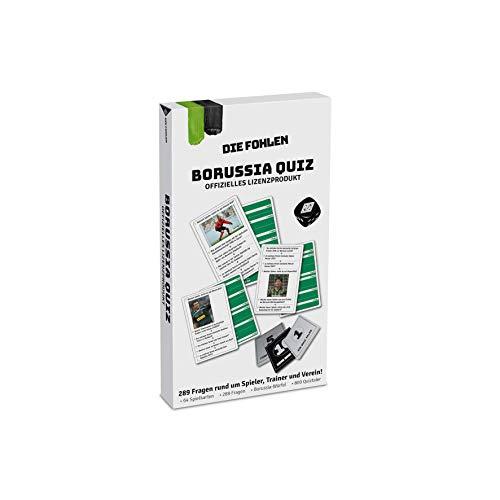 Teepe Jungen Mönchengladbach Borussia M nchengladbach Quiz, bunt, 10 20cm x 18cm 2 EU