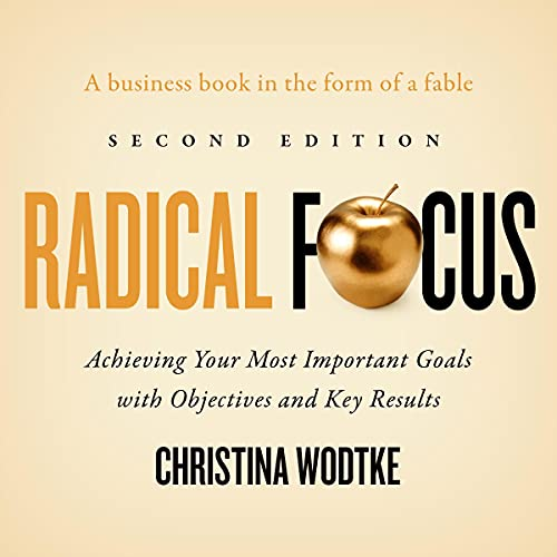 Radical Focus (Second Edition) cover art