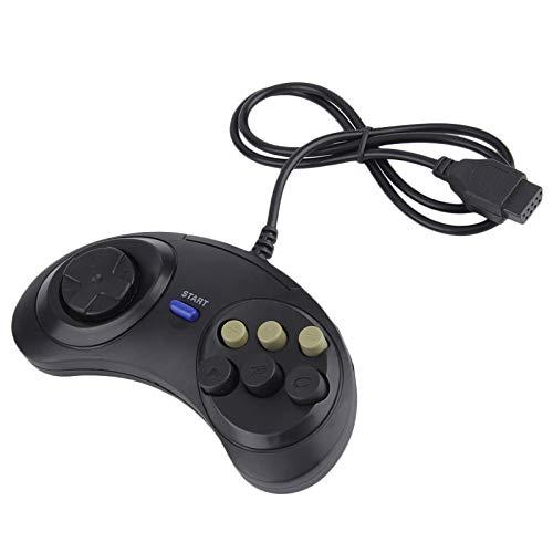 Dasorende Retro 6 Pulsanti Wired Gestore Controller Di Gioco Gamepad Joystick Joypad per Sega Md2 Pc Mega Drive Accessori Da Gioco