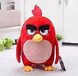 Peluche uccello arrabbiato, bambole di peluche con animali, giocattoli di peluche di gioco dei cartoni animati, per bambini Regali di Natale di compleanno, 22 cm