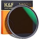 K&F Concept Filtro ND8 (3 Pasos) 67mm Filtro de Densidad Neutra de Vidrio Óptico HD Impermeable Resistente a rayones para Lente Canon Sony Nikon con Revestimiento Antirreflectante Verde