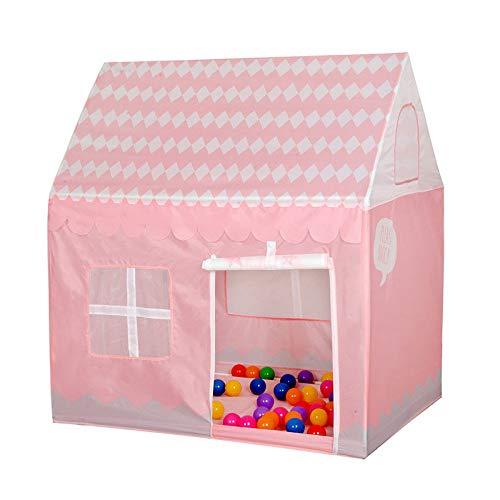 POUPDM Tienda Infantil Tente jouet portátil Plegable intérieur Rose tente Cadeau jouet pour Enfants, w