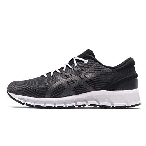 Asics Gel-Quantum 360 4, Running Shoe Hombre, Negro/Dark Grey, 44.5 EU