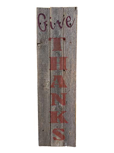 """Rustic Weathered Reclaimed Wood Planks for DIY Crafts, Projects and Decor (6 Planks - 36"""" Long)"""
