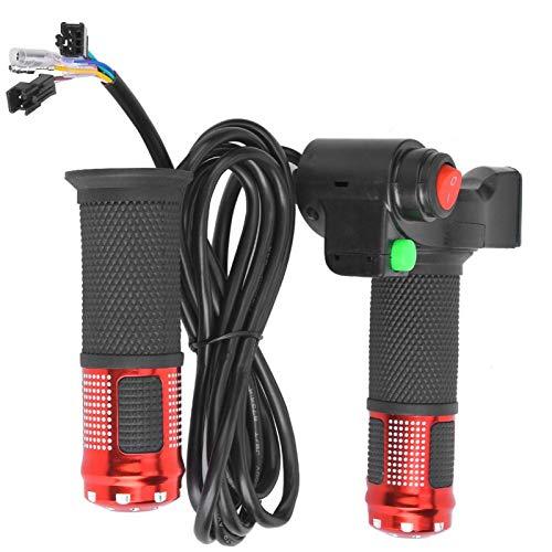 DAUERHAFT Echtzeit-Display Scooter-Gas 1-Paar-Gas-LED-Display, geeignet für Blei-Säure- / Lithium- / Wasser- / Trockenbatterien, für Verschiedene Elektrofahrzeuge