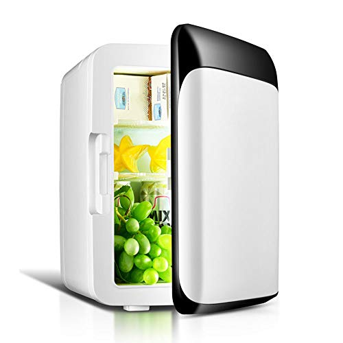 Autokühlschrank 12V Elektro-Kühlbox Kühler Heiß Kalt Gefrierschrank 10L tragbarer Mini-Autokompressor Gefrierschrank Leiser Betrieb Kühler Ideal für Camping, Reisen und Camping