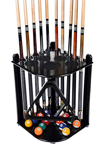 Cue Rack Only - 10 Pool - Billiard Stick & Ball Set Floor...