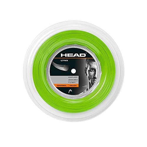 Head Lynx Rollo Cordajes de Raquetas de Tenis, Adultos Unisex, Verde, 17