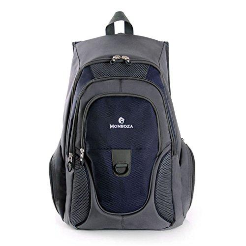 Zaino impermeabile Zaino Outdoor Sport Bag Daypack casuale Affari Zaino, Zaino Della Scuola, Zaino Laptop (Grigio-Blu)