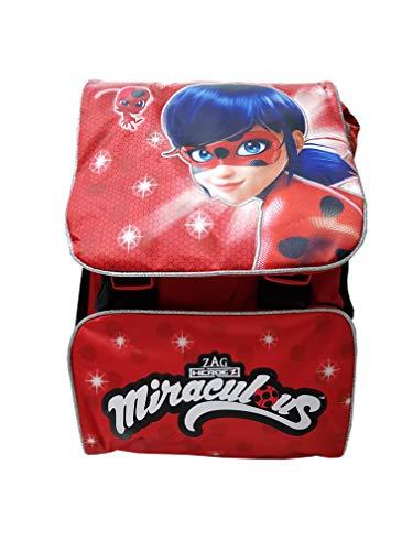 Lady Bug: Mochila Infantil Rojo