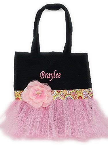 Personalised with any name Dance Bag Embroidered
