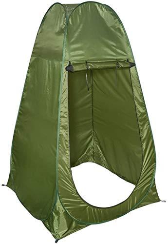 LIKEJJ Porta-Potty Zelt, Einzel-Duschzelt Strand Angeln Dusche Outdoor Camping WC-Zelt, Umkleidekabine Duschzelt