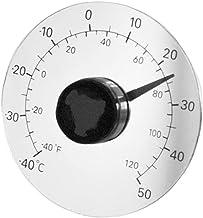 Termometr Zewnetrzny Drzwi Samoprzylepne I Okno Przezroczysty Termometr Wodoodporny Bez Wklejania Baterii Wskaznik Tempera...