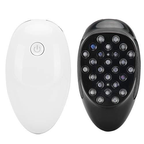 ABS+TPE, masajeador de cuero cabelludo, diseño antideslizante, con 26 dientes de silicona no estáticos, combina técnicas de amasamiento y masaje, para cabeza