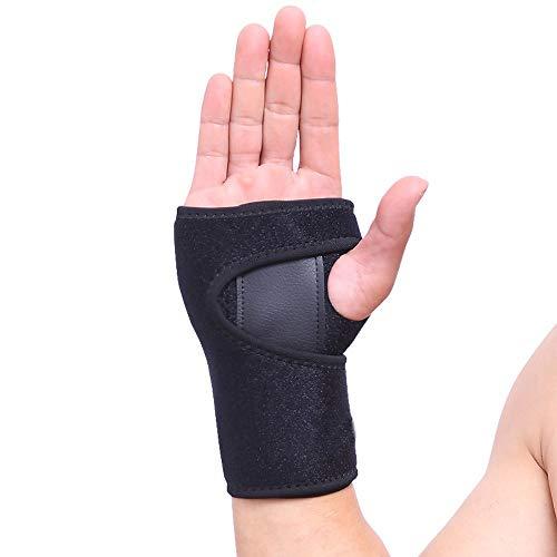 VITTO Handgelenk Bandagen - Handgelenkstütze für Karpaltunnelsyndrom, Sehnenentzündung, Arthritis und Verstauchung (Links, Mittel)