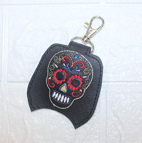 Sugar Skull Hand Sanitizer Holder