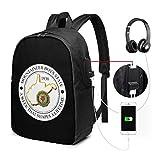 American Legion USB Backpack Carry On Bags Zaino per laptop da 17 pollici per scuola di viaggio Busin