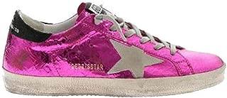 Golden Goose Superstar Sneaker Pink/Cracked Women G34WS590.M74