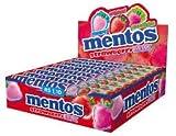 MENTOS STRAWBERRY 20 UDS