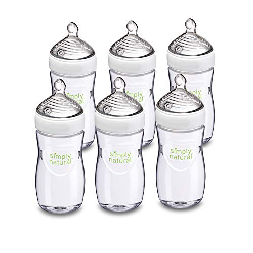 NUK Simply Natural Baby Bottles