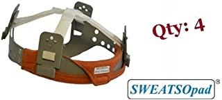 SWEATSOpad® Hard Hat Sweatband - [4 Sweatbands Total]
