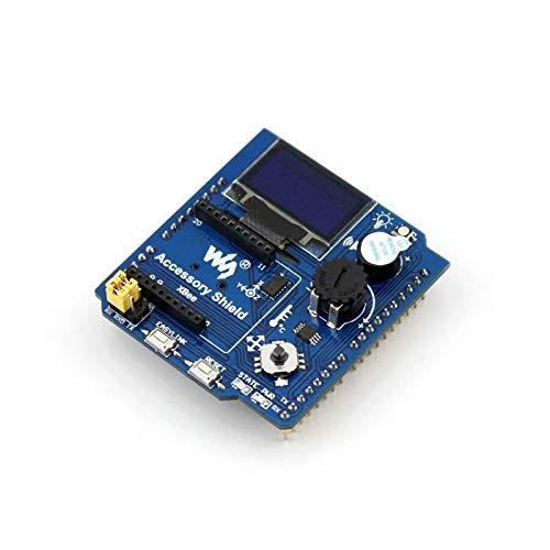 Atmega16U2 Board Module with USB LLD Accessory Shield,Accessory Shield for Arduino Development, Several Accessories IN One Board ANGEEK L293D Motor Driver