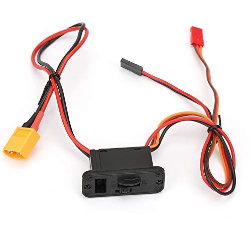 Interruptor de encendido RC, plástico y cobre CA POWER POWER PUERTE DE TUSQUIERDO DE CHARIDO