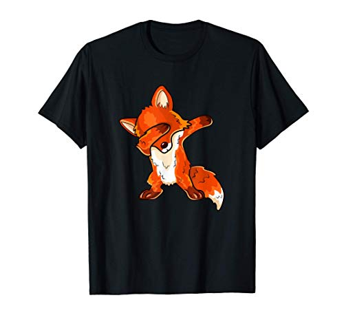 Fuchs DAB Dance Tanzender Comic Fuchs T-Shirt