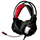 Qsenn HS10 Gaming Headset USB Wired LED Vibration 7.1ch with Microphone