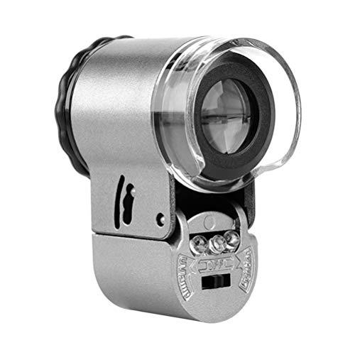 Solustre Microscopio Bolsillo Luz Ultravioleta Y Led