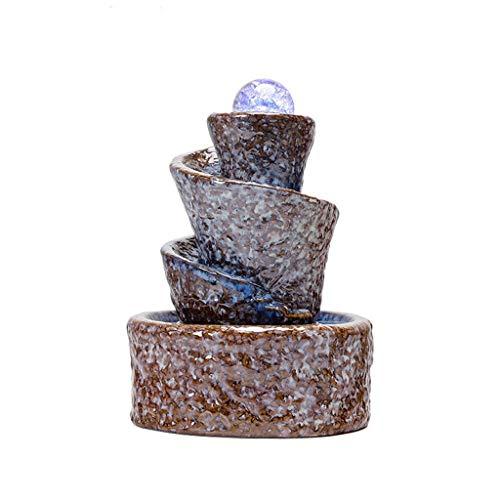 Fuente de Interior Fuentes de interior Tres Niveles con rocas Fuentes de...