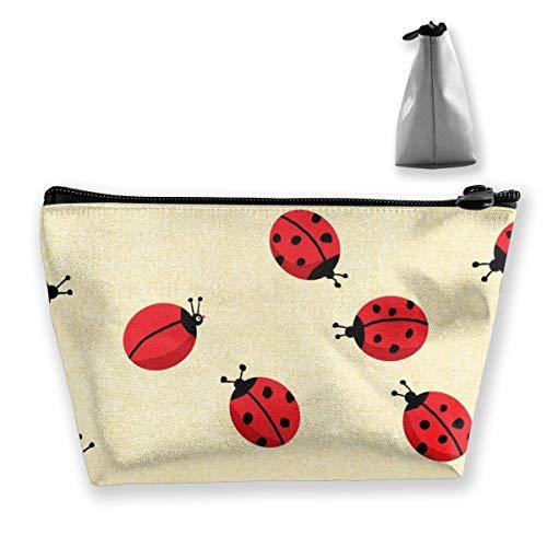The Ladybug With No Spots Trapezoid - Neceser de piel para mujer